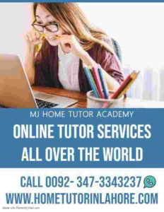 ONLINE TUITION ONLINE ASSIGNMENTS HELP